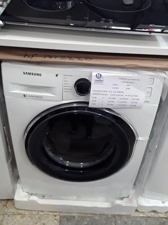 lavadora eco bubble tara