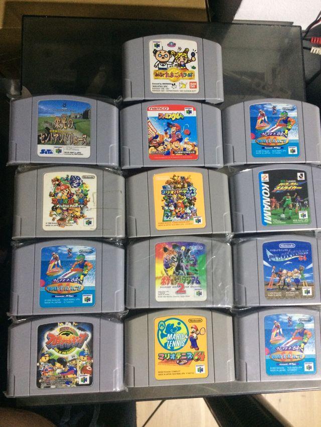 Lote Juegos Nintendo 64 De Segunda Mano Por 50 En Barcelona En