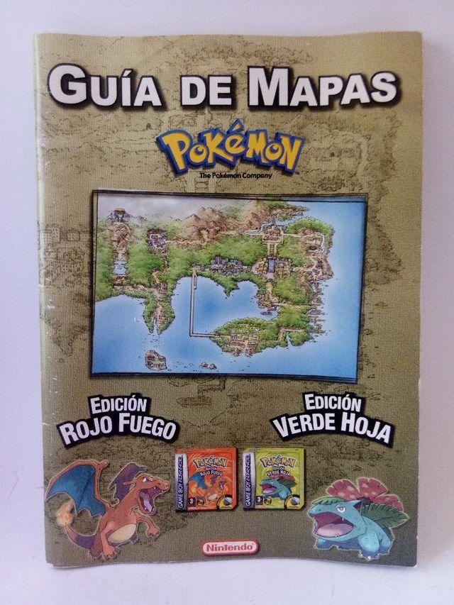 Mapa Pokemon Rojo Fuego.Guia De Mapas Pokemon Rojo Fuego Y Verde Hoja De Segunda