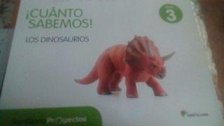 libro de texto cuanto sabemos los dinosaurios 3