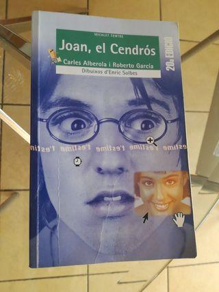 Libro lectura Joan, el Cendros