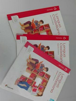 Libros de texto Lengua 6° Primaria