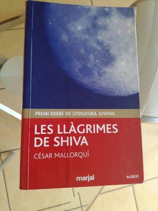 Libro lectura Les Llàgrimes de Shiva