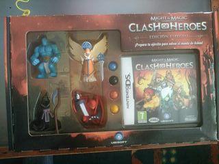 caja figuras Clash of Heroes