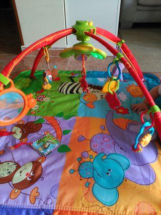 Manta de juegos bebé Tiny Love Jungle luz y música