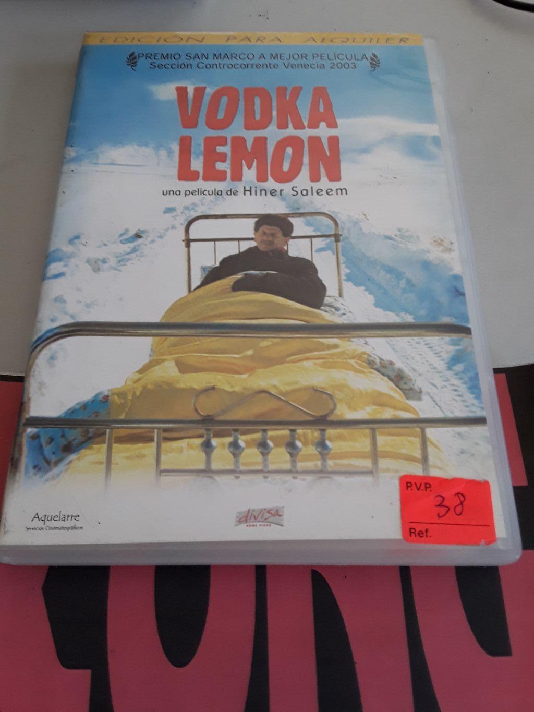 vodka lemon - dvd - cine - film - pelicula - Avilés - Vodka lemon - dvd - cine - film - pelicula - Avilés