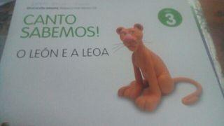 libro de texto cuanto sabemos leon e a leona 3
