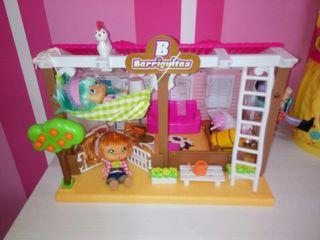 casa barriguitas mas dos muñecas