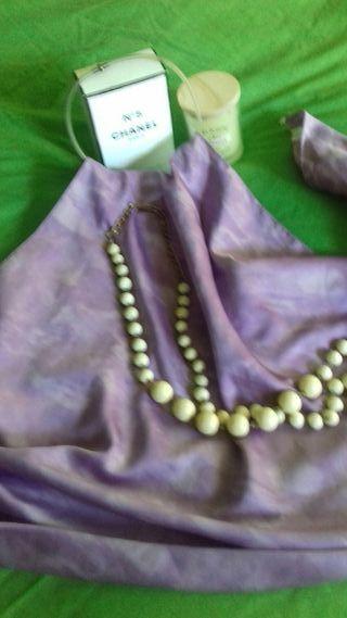 Pañuelo niki tonos morados talla unica