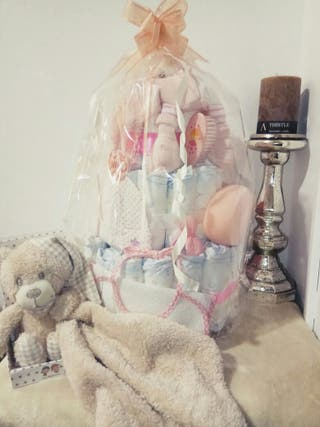 Cestas y tartas bebé
