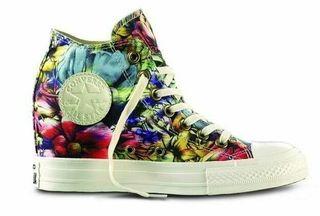Zapatillas Converse Floral con Cuña