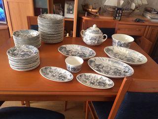 Vajilla porcelana san claudio