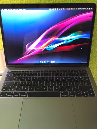Mabook Pro 13 2017 16Gb RAM 256Gb SSD Sin Touchbar