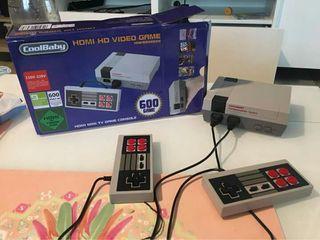 CONSOLA RETRO MINI NESS HDMI 600 JUEGOS