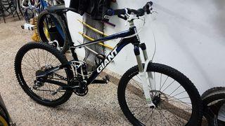 Bicicleta de doble suspension
