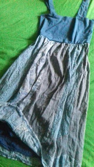 Vestido azul s/m !! 3x2 DE COMPRA