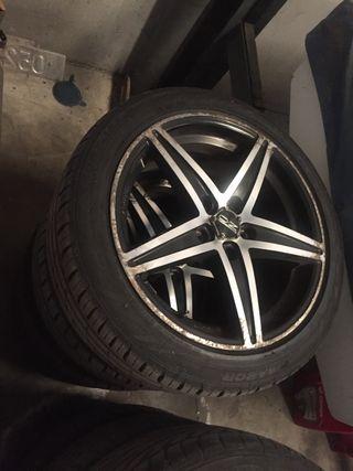 "Audi ruedas 17"" completas"
