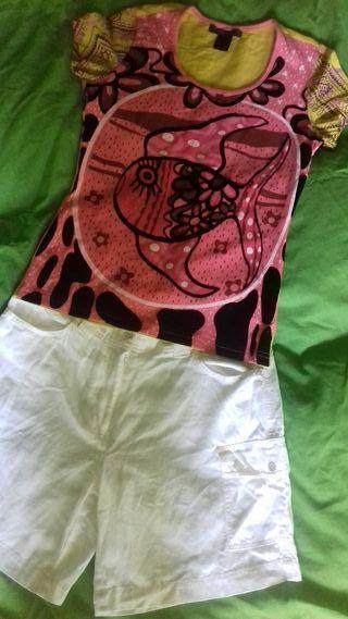 Pantalon corto talla 38 niki talla s/m