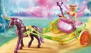 Playmobil Hada de las Flores con Carro y Unicornio