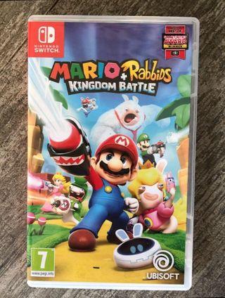 Mario and Rabbids Switch