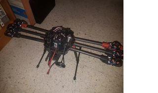 dron profesional (despiece)