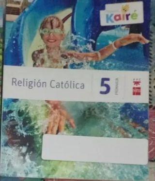 Libro de religión 5o. de primaria