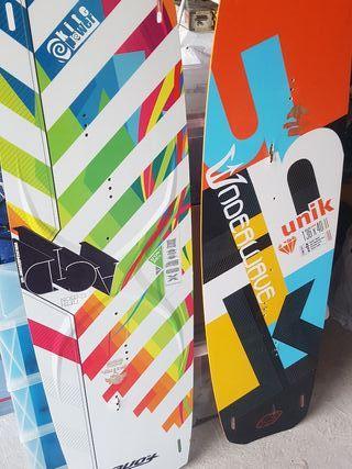 tablas de kite surf
