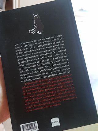 libro relatos góticos