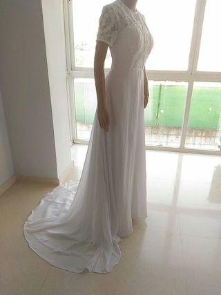 Último precio! Vestido de novia , talla S Nuevo !