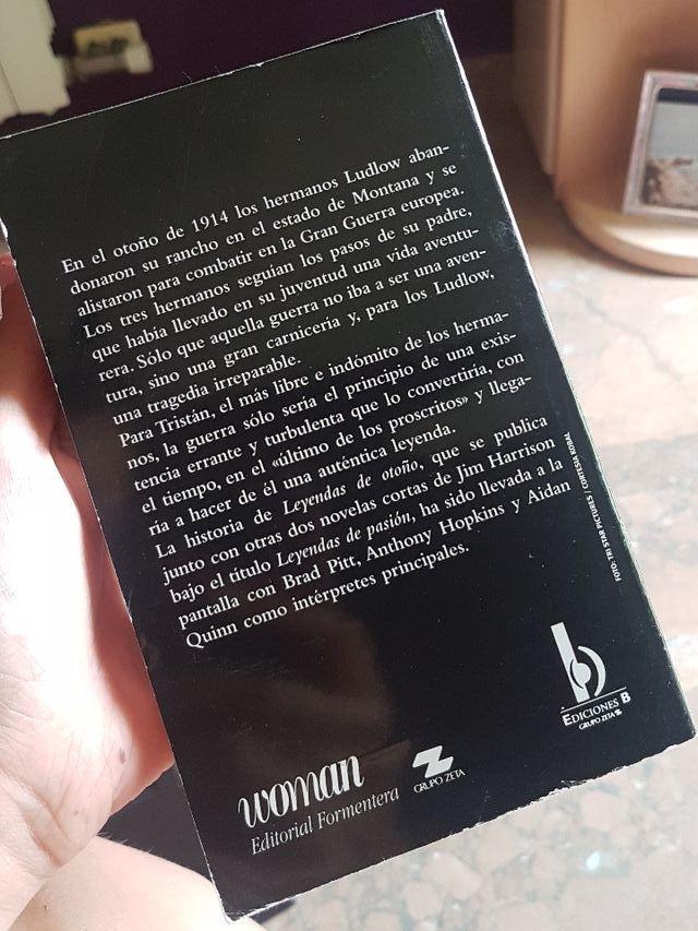 libro de leyendas de pasión