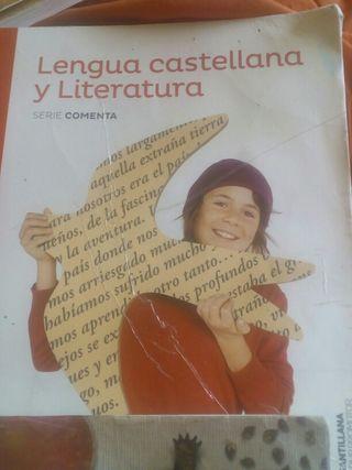 llibre de castella 1r eso 10€