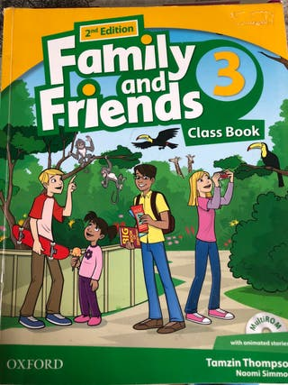 Family and Friends 3 ClassBook