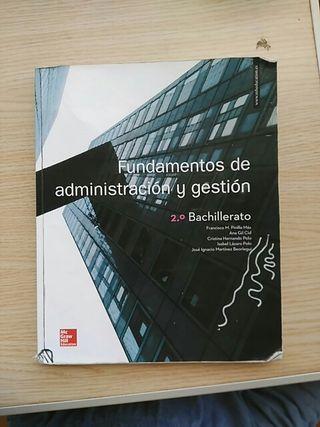 Fundamentos de adminitación y gestión 2° Bach.