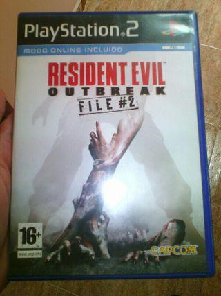 Resident evil outbreak file 2 ps2