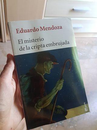 libro el misterio d la cripta embrujada