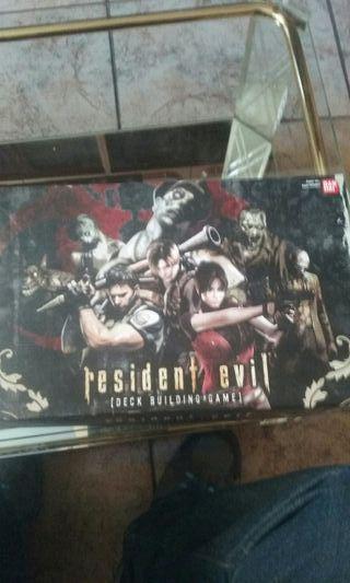 Residen Evil deck building game