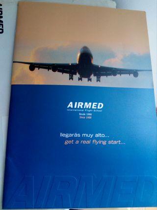 folleto escuela aviacion AIRMED