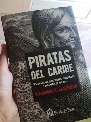 libro piratas del Caribe