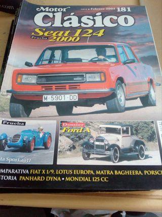 Revistas coches clasicos.