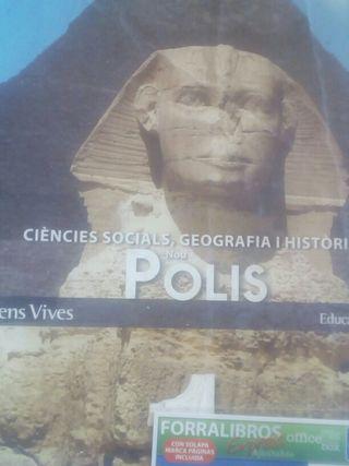 llibre de socials 1r eso 10€