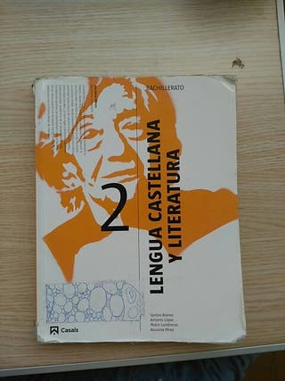 Libro lengua castellana y literatura 2° de Bachill