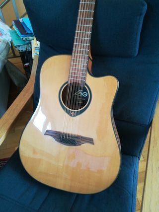Guitarra 12 Cuerdas LAG