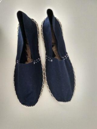 alpargatas azul marino 39