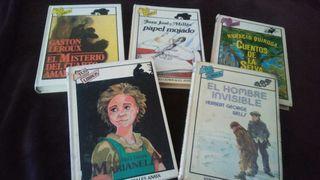 6 Libros Anaya coleccion Tus libros