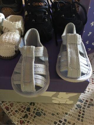 Zapatos niño recien nacido