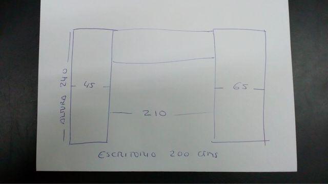 Dormitorio modular completo