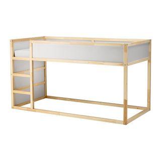 Cama litera Kura de Ikea como NUEVA