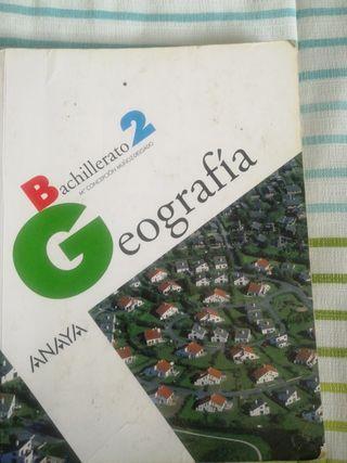 libro de geografía de 2 de bachillerato