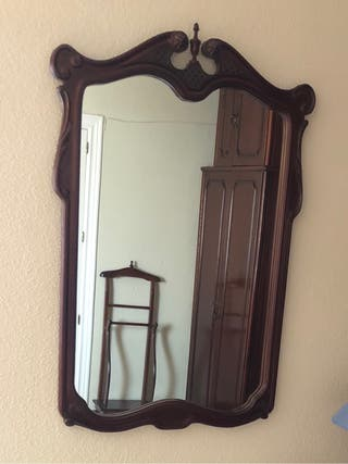 Espejo clásico madera