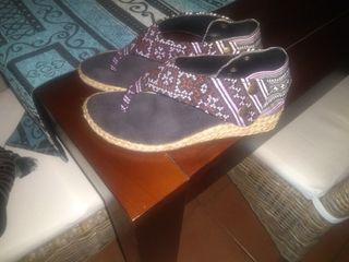 zapatillas tipo alpargata